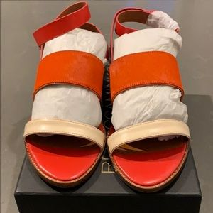 Wrap around ankle sandals